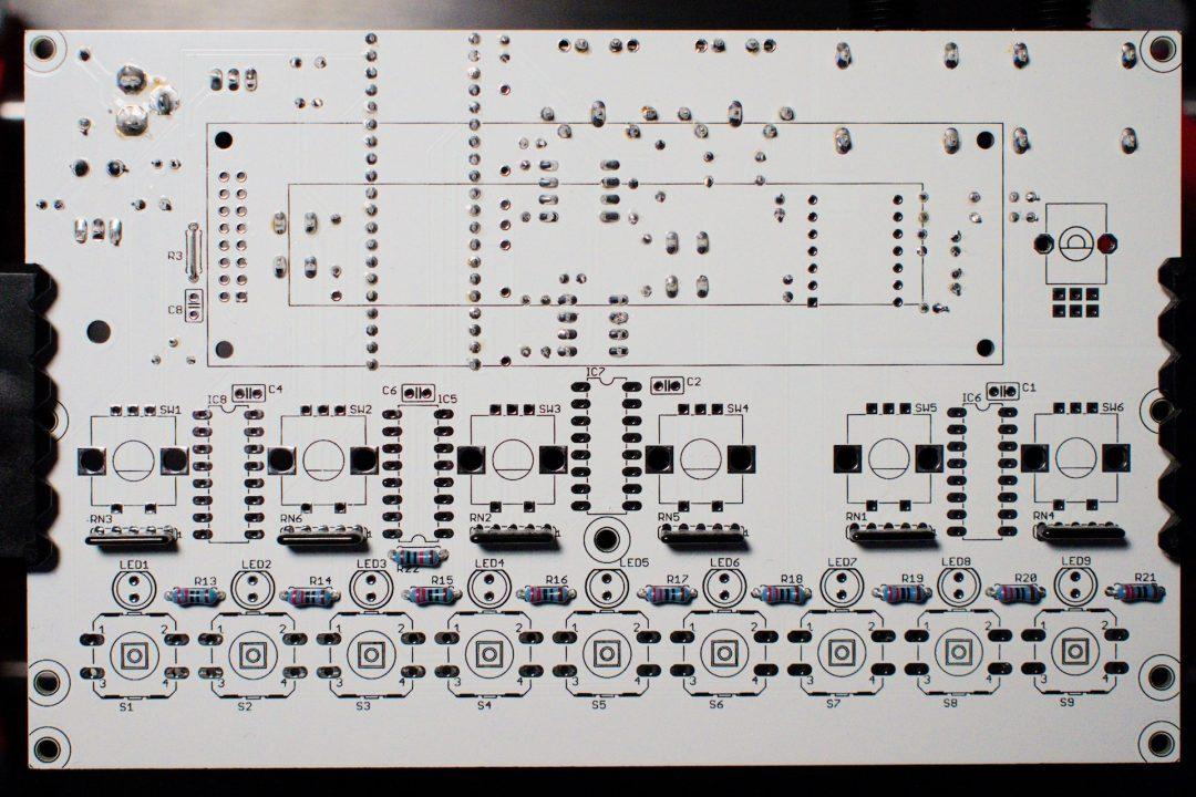 Soldering guide PCB v1.04 | Audiothingies